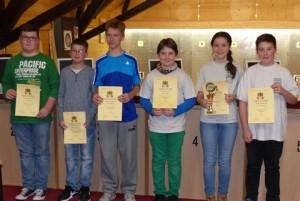 2. Platz Mannschaft Robin Maximilian Jonas